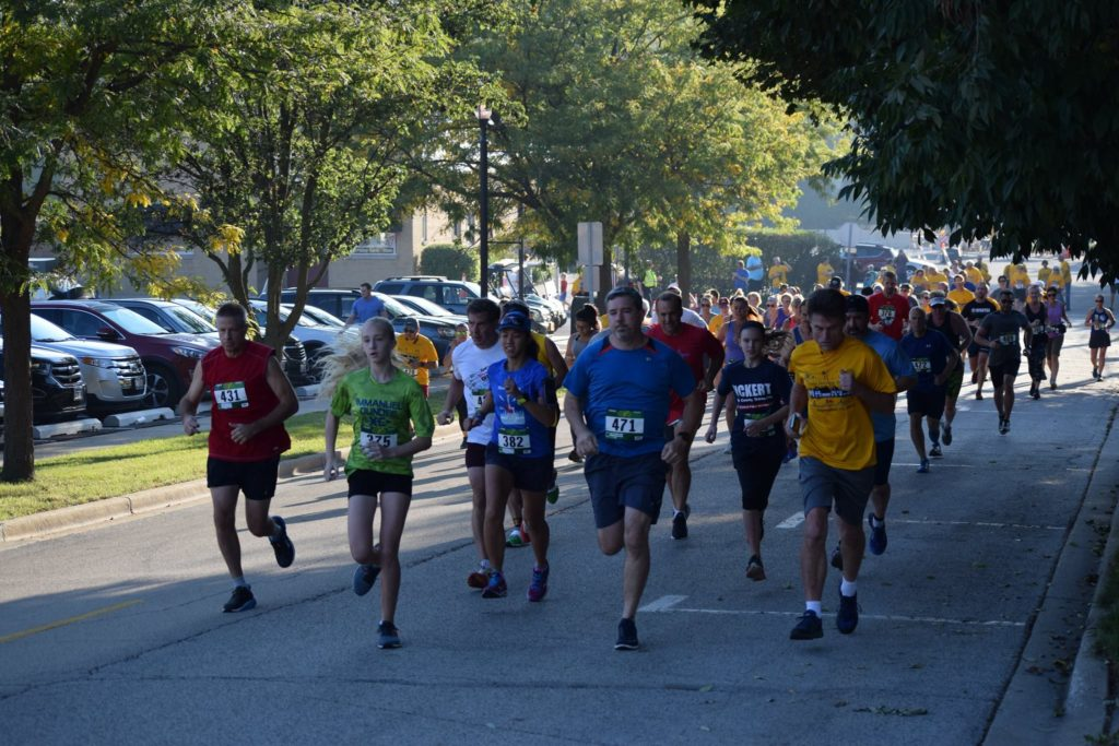 Lions club 5k run