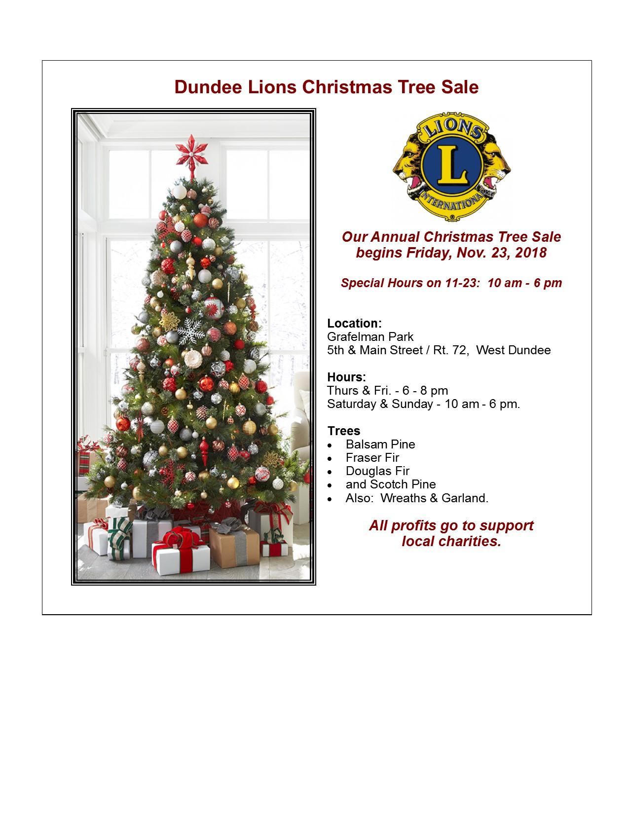 Christmas Tree Sale-2018