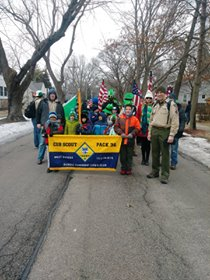 The Lions are proud to be the Chartering Organization for Cub Scout Pack 36. They look great in the parade today. Thanks to all the leaders who make this a special group. iF YOU ARE LOOKING FOR A TROOP IN DUNDEE FOR YOUR CHILD (BOY OR GIRL) LOOK THEM UP ON THEIR WEB PAGE.