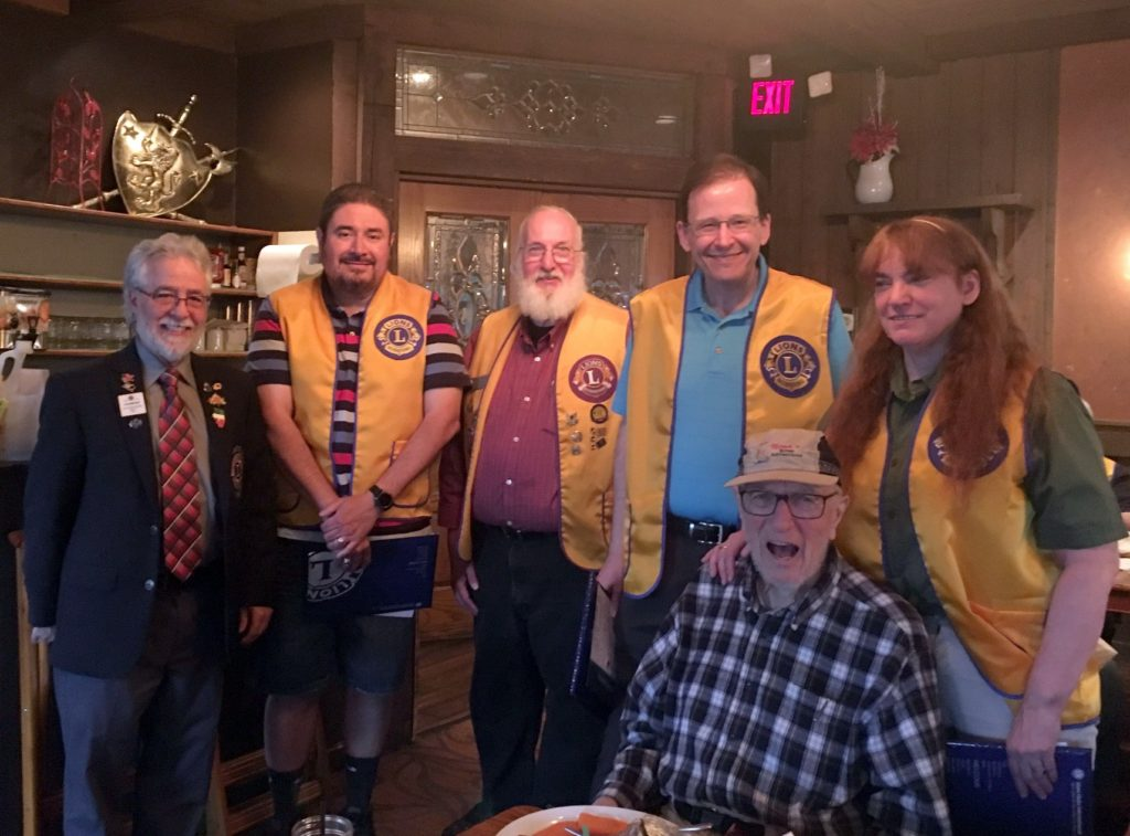 Dundee Township Lions induct three new members at their last club meeting