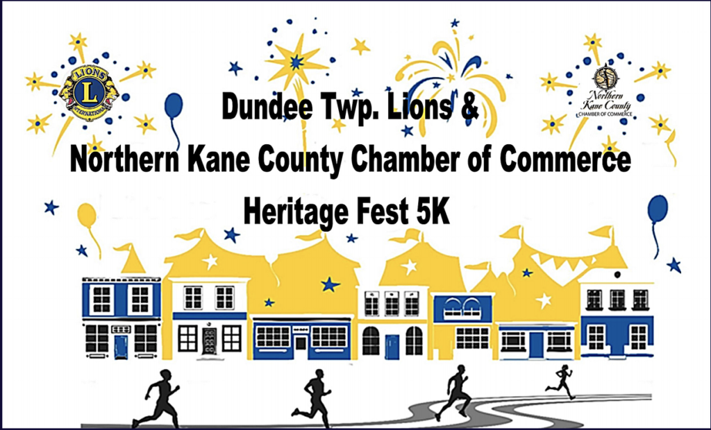 Northern Kane County Chamber of Commerce Heritage fest 5K run